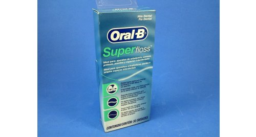 SUPER FLOSS ORAL-B X 50 UNDS.