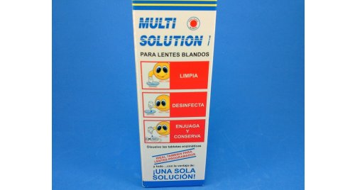 MULTI SOLUTION X 120 ML