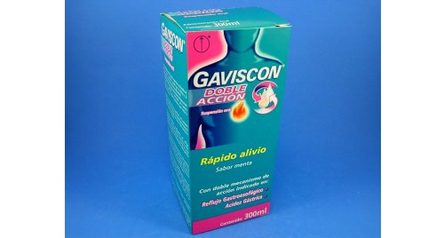 GAVISCON DOBLE ACCIÓN X 300 ML.