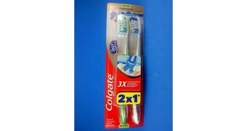 CEPILLO COLGATE 360SURROUND MEDIO 2 X 1.