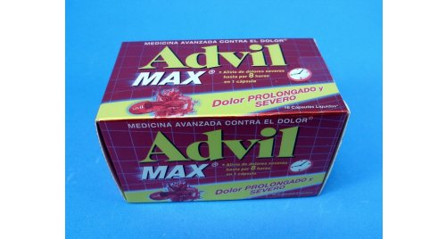 ADVIL MAX 16 CAPSULAS