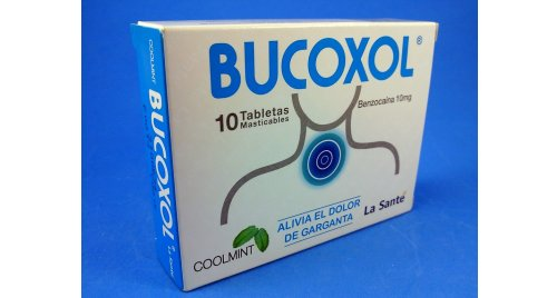 BUCOXOL COOLMINT 10 TABLETS