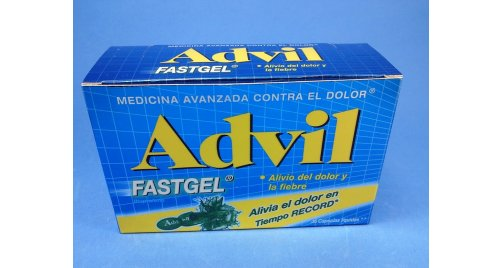 ADVIL FASTGEL X 4 CAPSULAS.