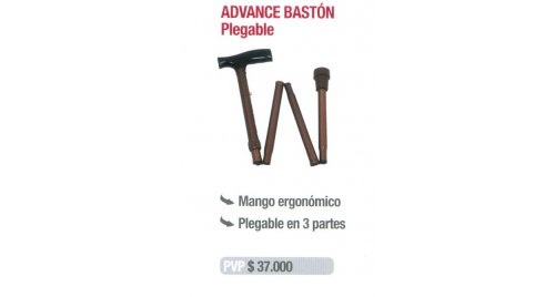 BASTÓN PLEGABLE ADVANCE