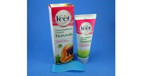 VEET CREMA DEPILATORIA PAPAYA 100 ML.