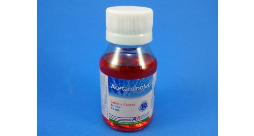 ACETAMINOFÉN JARABE X 60 ML AG