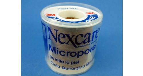 MICROPORE 3M COLOR PIEL 48MM X 5 MTS.