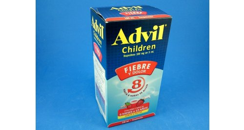 ADVIL CHILDREN SUSPENSION X 100 ML.