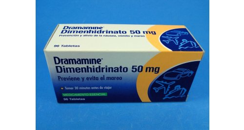 DRAMAMINE 50 MG BLISTER X12 TABLETAS