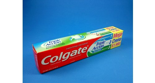 COLGATE CREMA DENTAL TRIPLE ACCION X 63 ML.