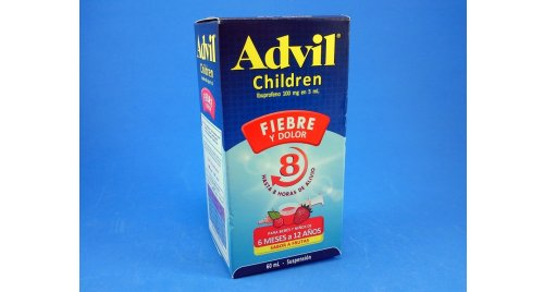ADVIL CHILDREN SUSPENSION 60 ML.